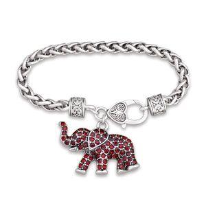NWT  BOUTIQUE    RHINESTONE ELEPHANT     BRACELET